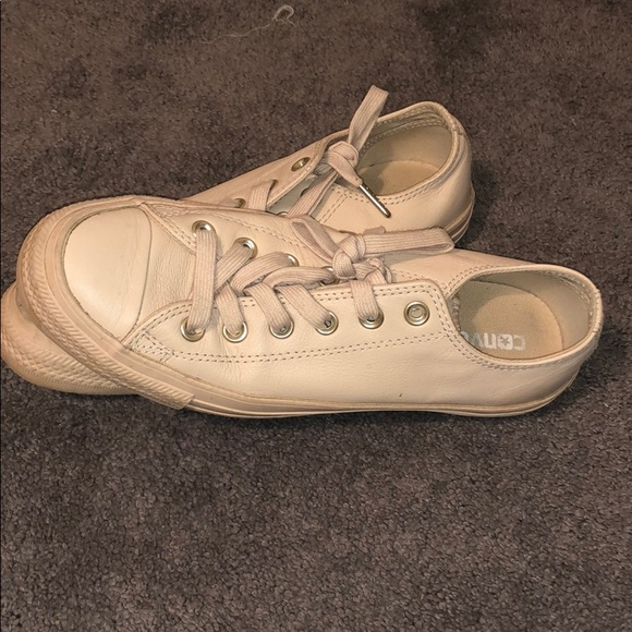 Converse Shoes | Baby Pink Leather